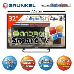 "TV 32"" LED GRUNKEL ""SMART TV"" (HDready-2xUSBrec-TDT2)"