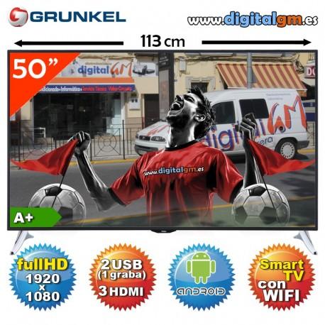 "TV 50"" LED GRUNKEL (full HD-Android TV-USBrec-100Hz-TDT2)"