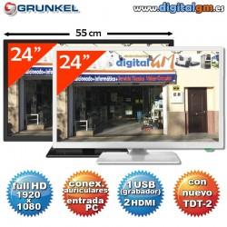 "TV 24"" LED GRUNKEL (FullHD-USBrec-TDT2)"