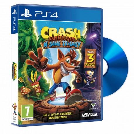 "JUEGO PS4 ""CRASH BANDICOOT - N´sane trilogy"""