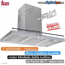 CAMPANA TEKA INOX (T INVERTIDA/735m3h)