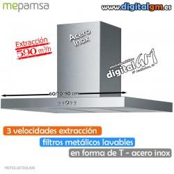 CAMPANA MEPANSA INOX (T INVERTIDA/590m3h)