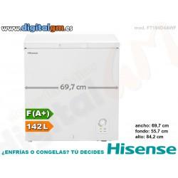CONGELADOR ARCON HISENSE 142L (ancho 69.7cm)