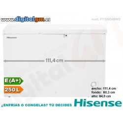 CONGELADOR ARCON HISENSE 250L (ancho 111.4cm)
