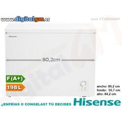 CONGELADOR ARCON HISENSE 198L (ancho 80.2cm)