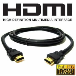 CABLE HDMI (VERSION 1.4/CONEXIONES DORADAS)
