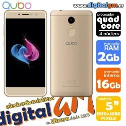 """QUBO NEPTUNO (5""""/QUAD CORE/16Gb/2Gb) """"Libre"""" (con garantía española)"""