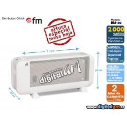 MICA FM BM-20 (2000W / PANEL DE MICA)